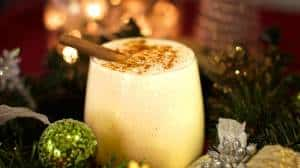 And anja from cooking with plants helps us wash it all down with a festive vegan eggless nog.