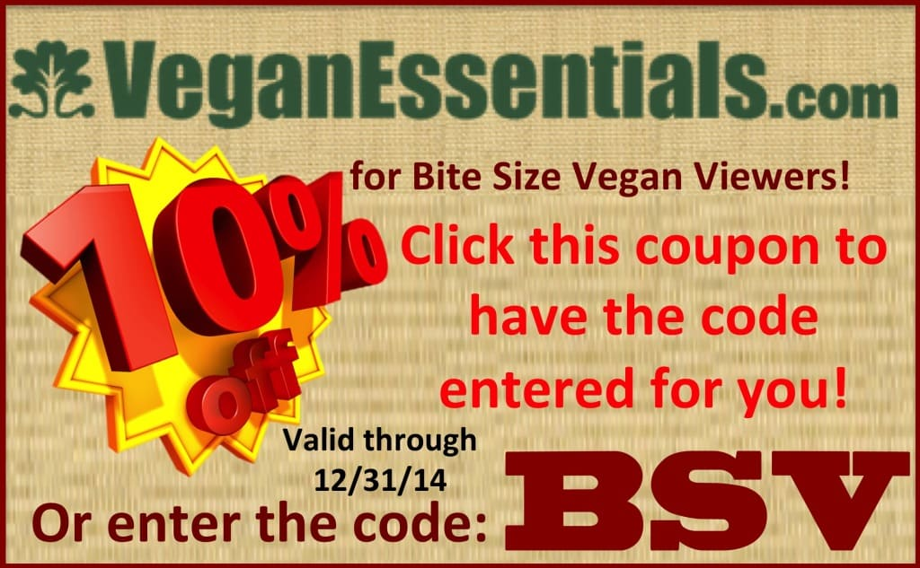 10% off Everything at VeganEssentials.com