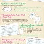 Large Vegan Cheat Sheet for Baking