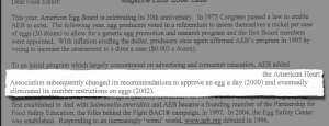 06 Egg Industry Says the AHA Removed Egg Limit