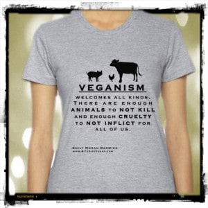 Veganism Welcomes All Kinds Vegan Tshirt
