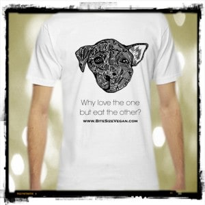Why Love One But Eat The Other Vegan TShirt