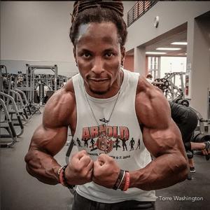 Torre Washington Vegan Bodybuilder