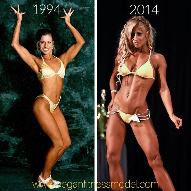 Omnivore vs Vegan bodybuilder Crissi Carvalho transformation