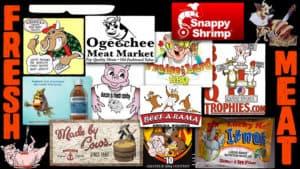 Animal Food Mascots