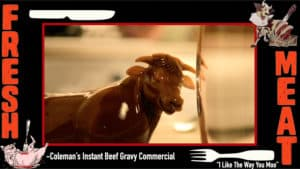 Colman's Beef Gravy Commercial I Like The Way You Moo dancing cow