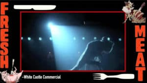 white castle pig flashdance commercial