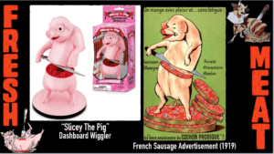 Slicey the Pig and bons saucissons du COCHON PRODIGUE